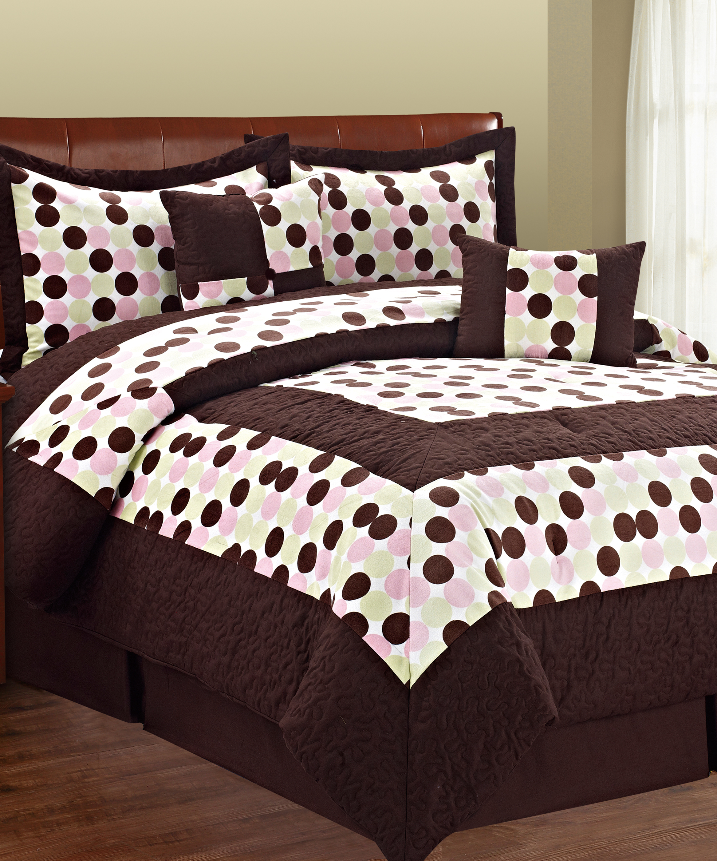 polka coral bedroom bedspreads bedding bed brown sets lime neon tribal camo and comforter teens dot white beautiful dark green teal gold for teen cute colorful pink