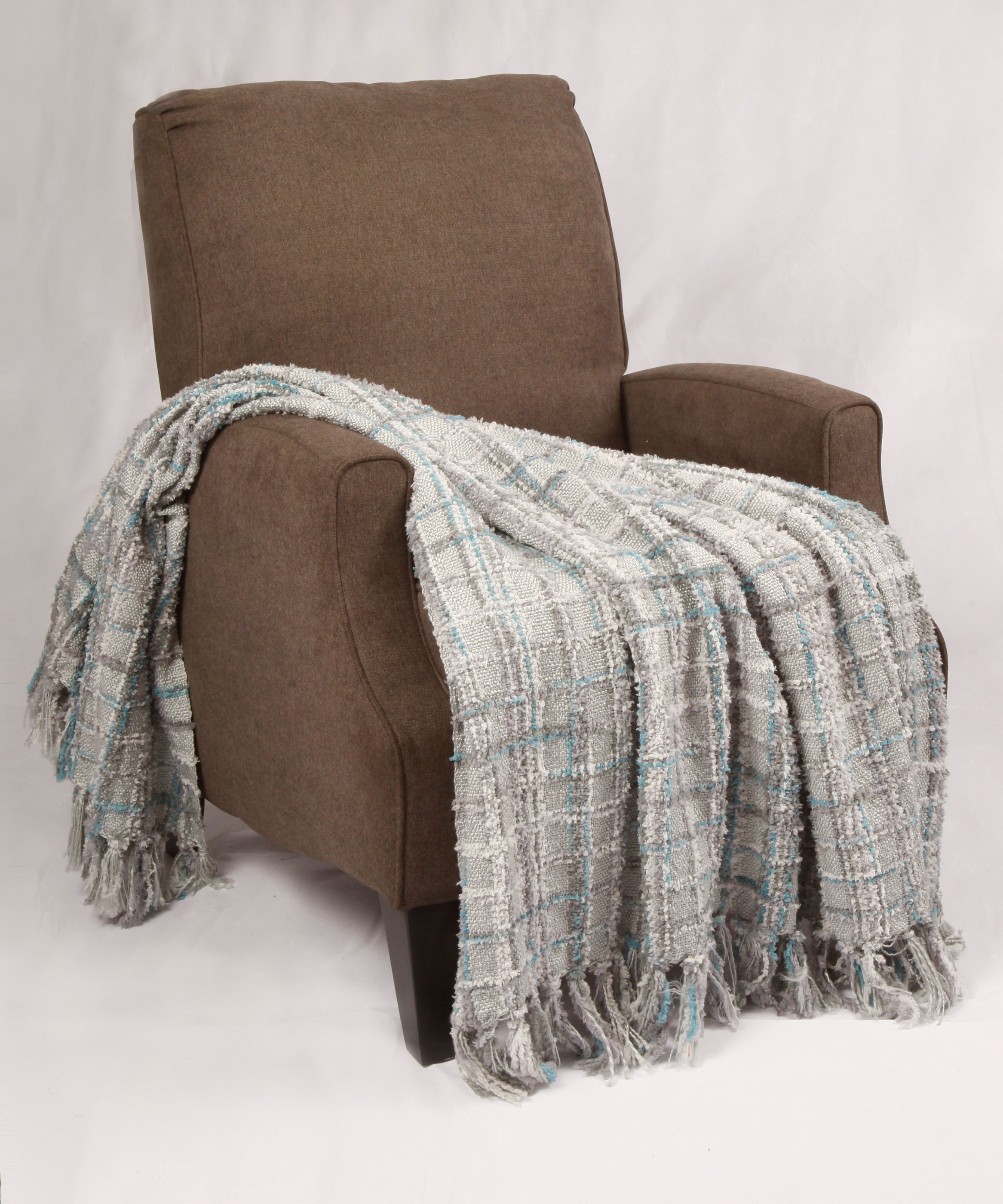 Multi Color Chenille Throws Bnf Home Inc